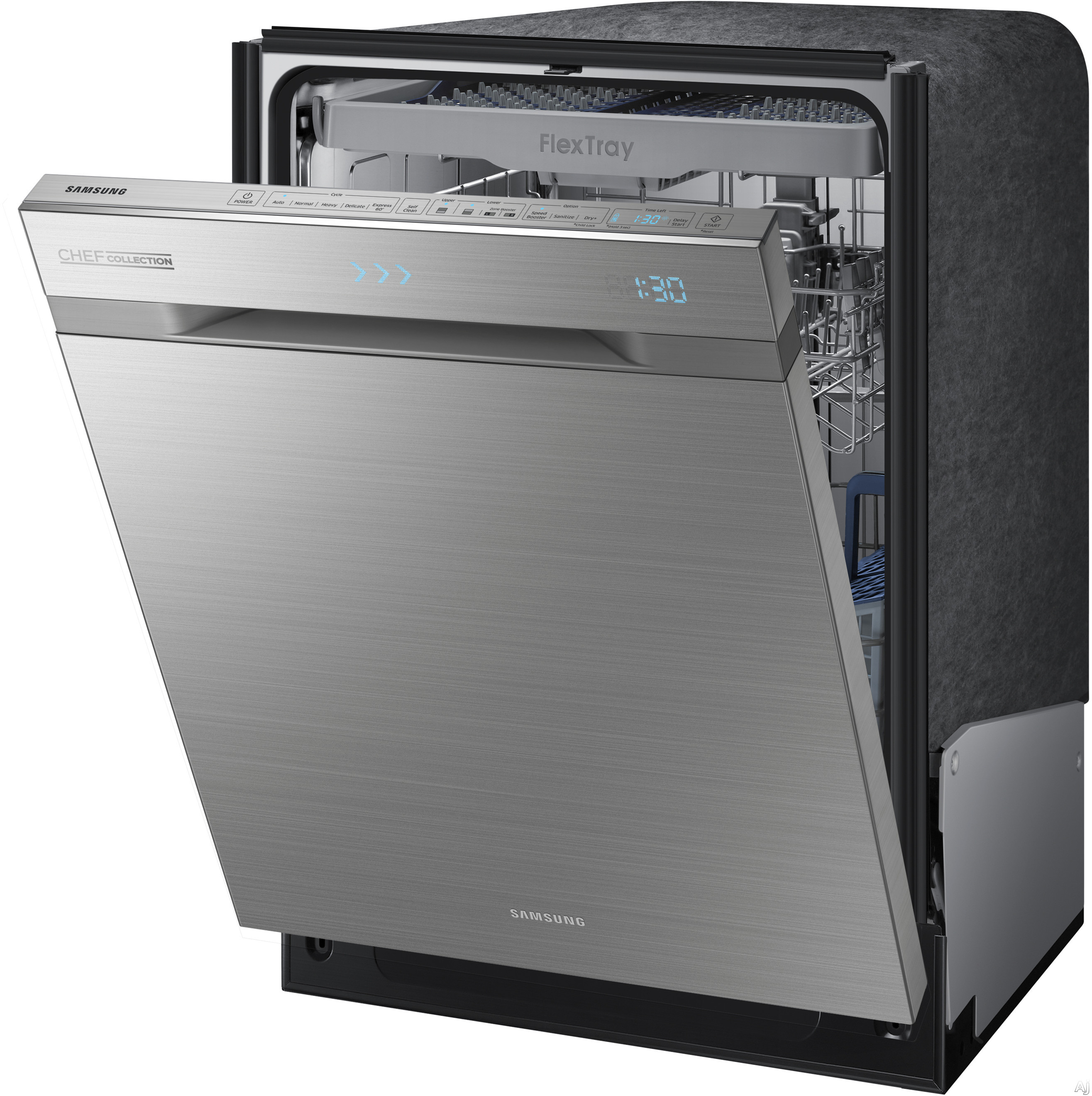 Samsung Dw80h9970us Top Control Chef Collection Dishwasher