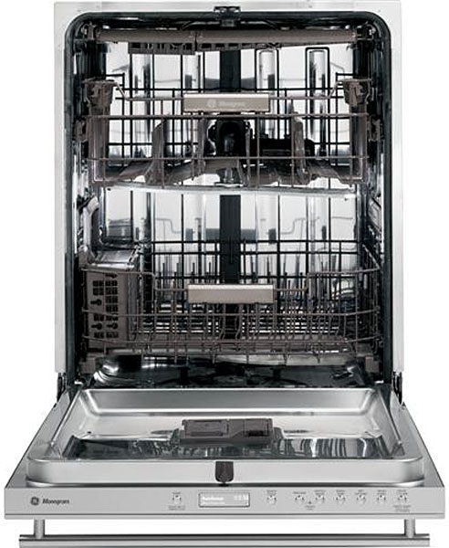 GE ZDT870SSFSS Dishwasher inside