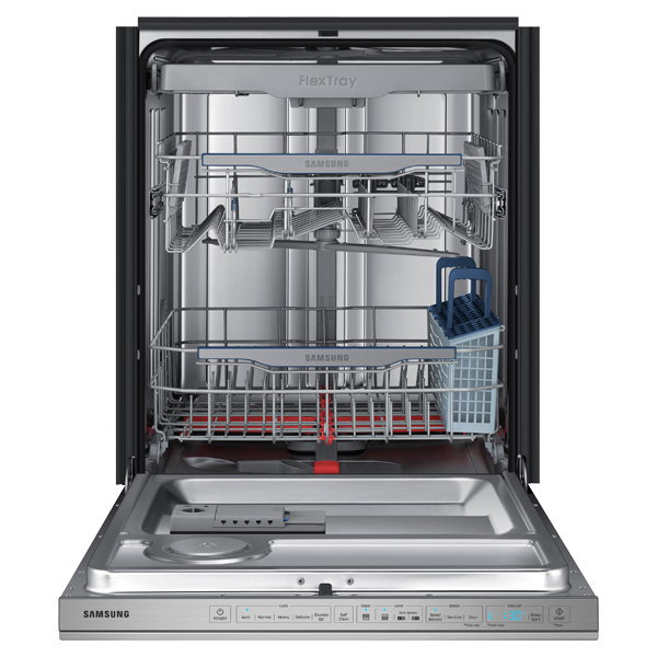 Samsung DW80H9970US dishwasher inside